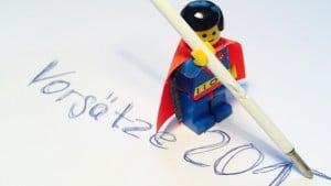 Gute Vorsätze – Checklist für Superhelden