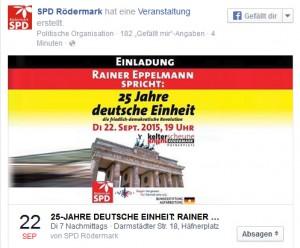 SPD_25 Jahre Einheit