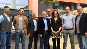 Gruppenbild von Mentoren - Youth Business Germany -YBG -
