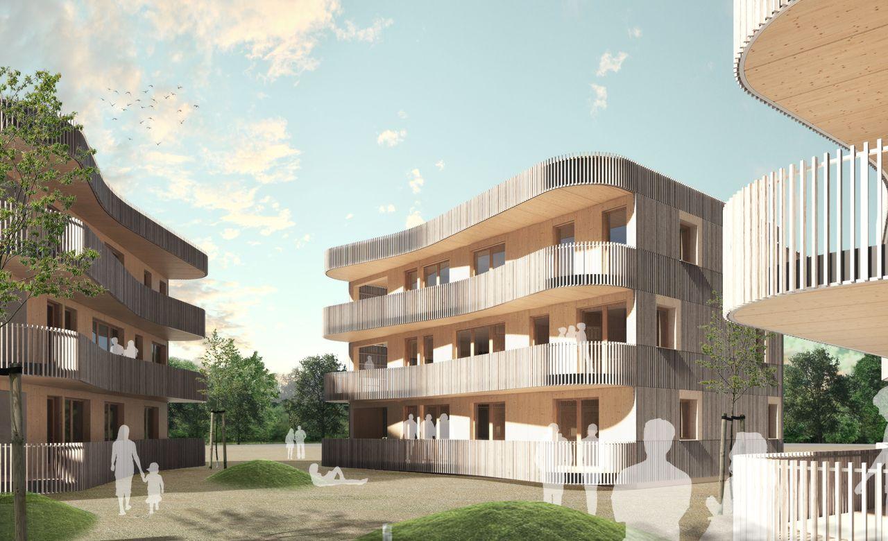Neuer Bezahlbarer Wohnruam in Rödermars Grüner Mitte