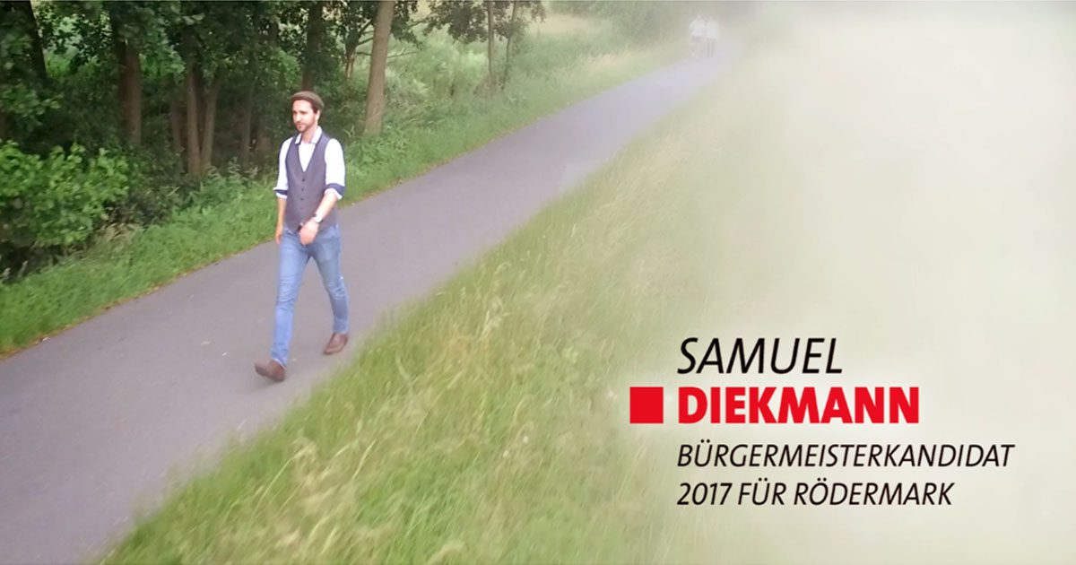 Samuel Diekmann, Bürgermeister, Rödermark, Termine, Veranstaltung
